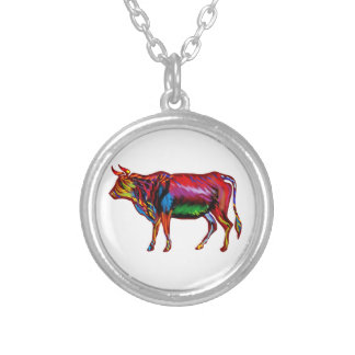 Running Fiesta Silver Plated Necklace