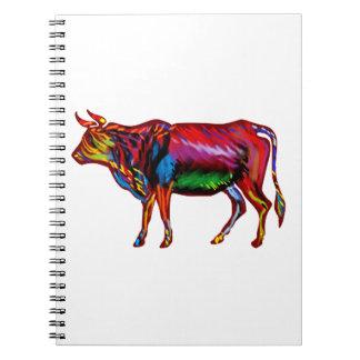 Running Fiesta Spiral Notebook