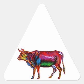 Running Fiesta Triangle Sticker