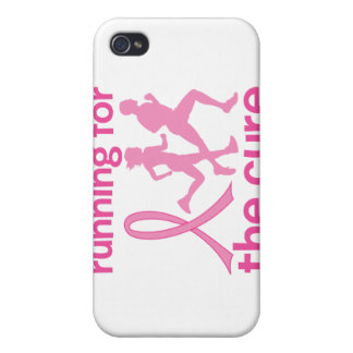 Running For The Cure iPhone 4 Case