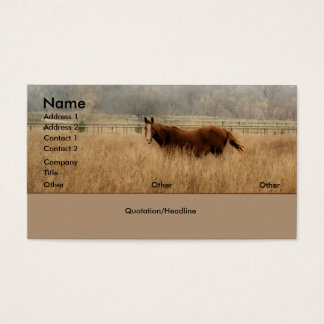 Running Free Business Cards