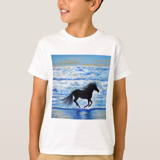 Running Free by the Sea 2 T-Shirt