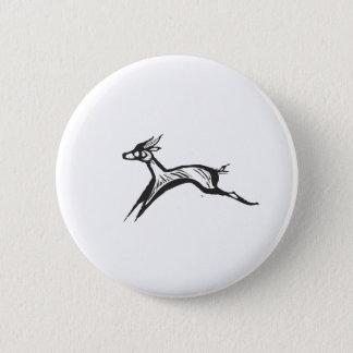 Running Gazelles #1 2 Inch Round Button