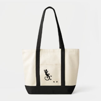 Running Gecko Tote Bag