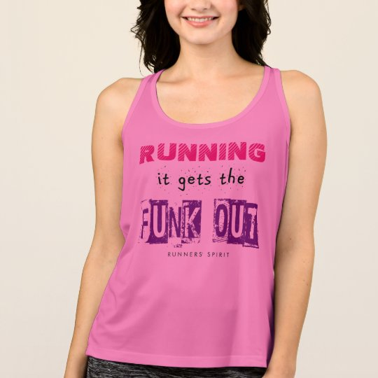 Running Gets the Funk Out - All Sport Tank Top