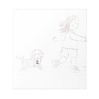 Running Girl 2 Notepad