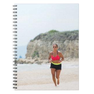 Running girl notebook