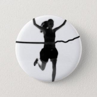 Running Girl Pride 2 Inch Round Button