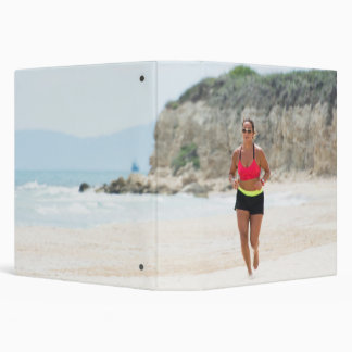 Running girl vinyl binder