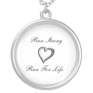 Running Heart Necklace