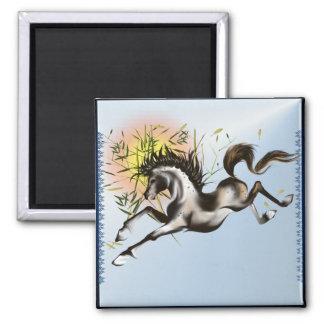 Running Horse Magnet