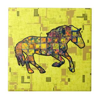 RUNNING HORSE SQUARED Tile