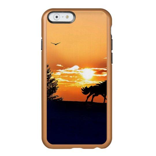 running horse  - sunset horse - horse incipio feather® shine iPhone 6 case
