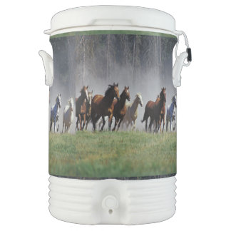 Running Horses Beverage Cooler