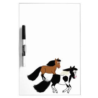 Running Horses Dry Erase Whiteboards