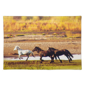 Running Horses Placemat