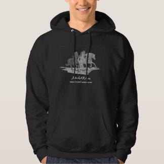 Running Horses, Xhi-LARA-te., www.LarasCreation... Hoodie