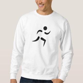 Running icon sweatshirt