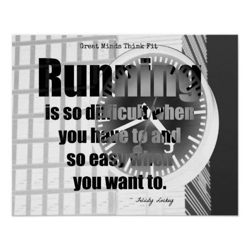 Running Is Easy! Print