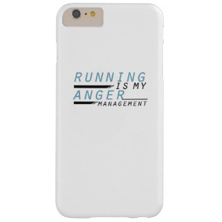 Running is my anger management Runner Gift Barely There iPhone 6 Plus Case