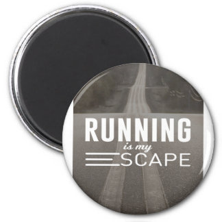 Running Is My Escape Magnet