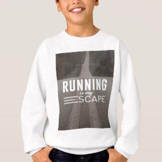 Running Is My Escape Sweatshirt