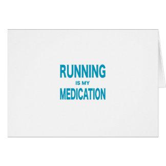 Running Is My Medication Card