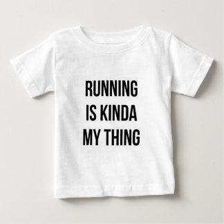 Running Is My Thing Baby T-Shirt