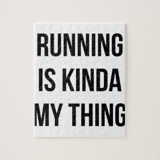 Running Is My Thing Jigsaw Puzzle
