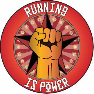 Running Is Power Photo Cutouts