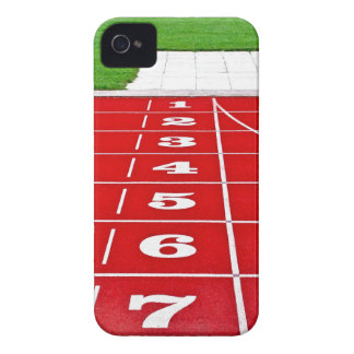 Running Lanes on the Track iPhone4 Case-Mate ID iPhone 4 Covers