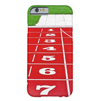 Running Lanes on the Track iPhone 6 Barely There iPhone 6 Case