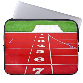 Running Lanes on the Track Laptop Sleeve