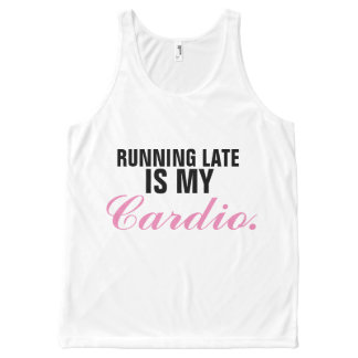 running late All-Over-Print tank top