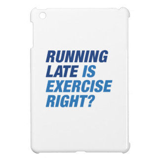 Running Late iPad Mini Cases