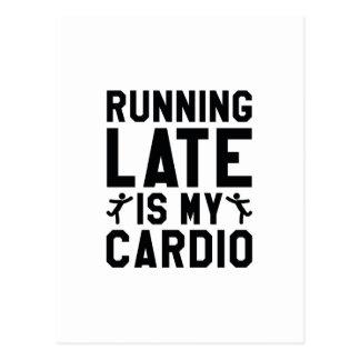 Running Late Postcard