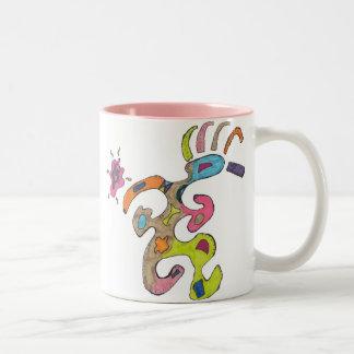 """""""Running Man"""" Abstract Mug"""