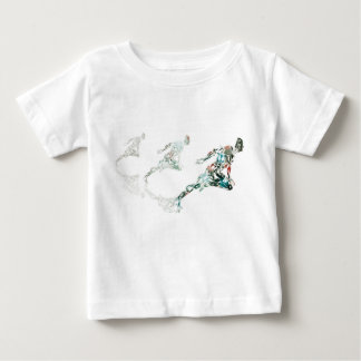 Running Man for Sports Business and Technology Baby T-Shirt