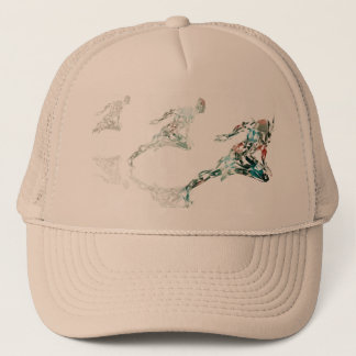 Running Man for Sports Business and Technology Trucker Hat