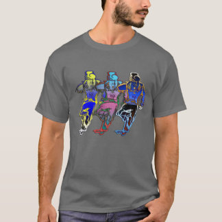 Running Men T-Shirt