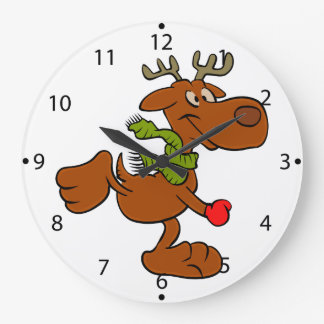 Running moose large clock