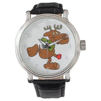 Running moose watch