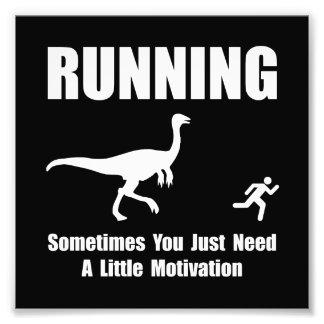 Running Motivation Photo Art