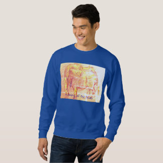 running of the bulls sweatshirt