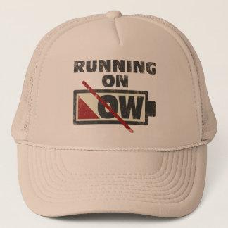 Running On Low Trucker Hat