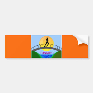 RUNNING PRODUCTS BUMPER STICKER