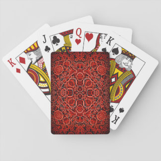 """Running Red""  Custom Playing Cards"