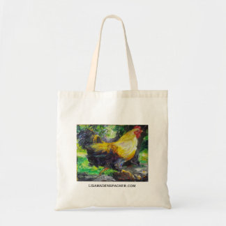 Running Rooster Tote Bag