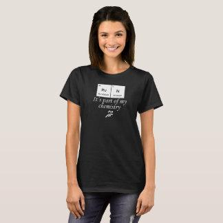 Running. RuN. It's part of my chemistry T-Shirt