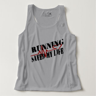 Running Saved My Life Tank Top